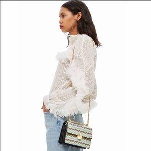 NWT Topshop Gem Crossbody Bag
